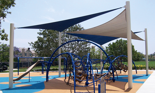 shade structures for playgrounds