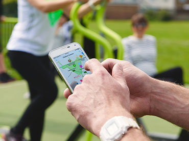 App for finding outdoor gyms