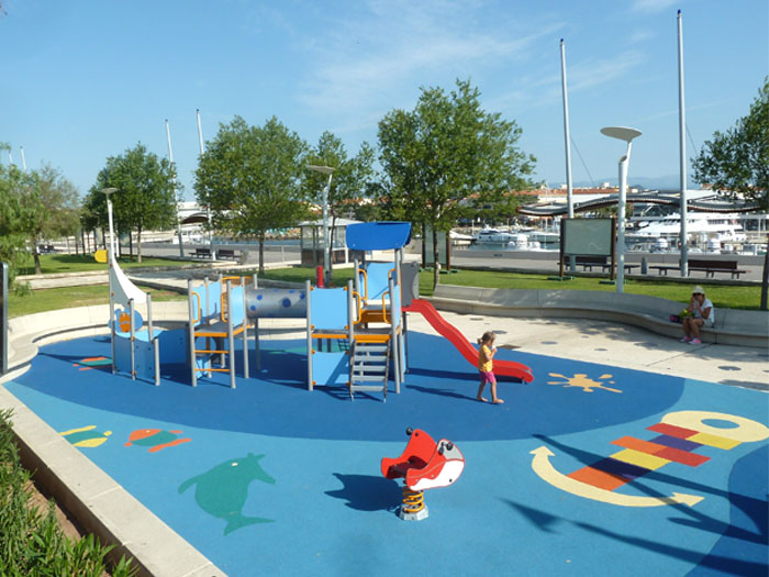 nautical themed playground